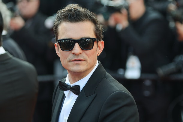 "CANNES, FRANCE - MAY 23: Orlando Bloom attends the screening of ""The Traitor"" during the 72nd annual Cannes Film Festival on May 23, 2019 in Cannes, France. (Photo by Laurent KOFFEL/Gamma-Rapho via Getty Images)"