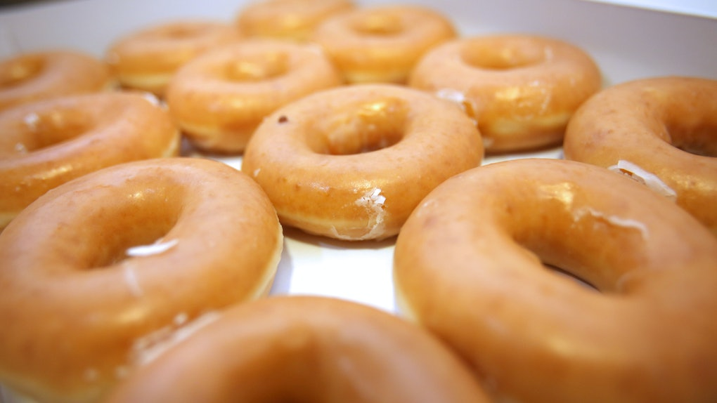 Here's how to get free Krispy Kreme doughnuts.
