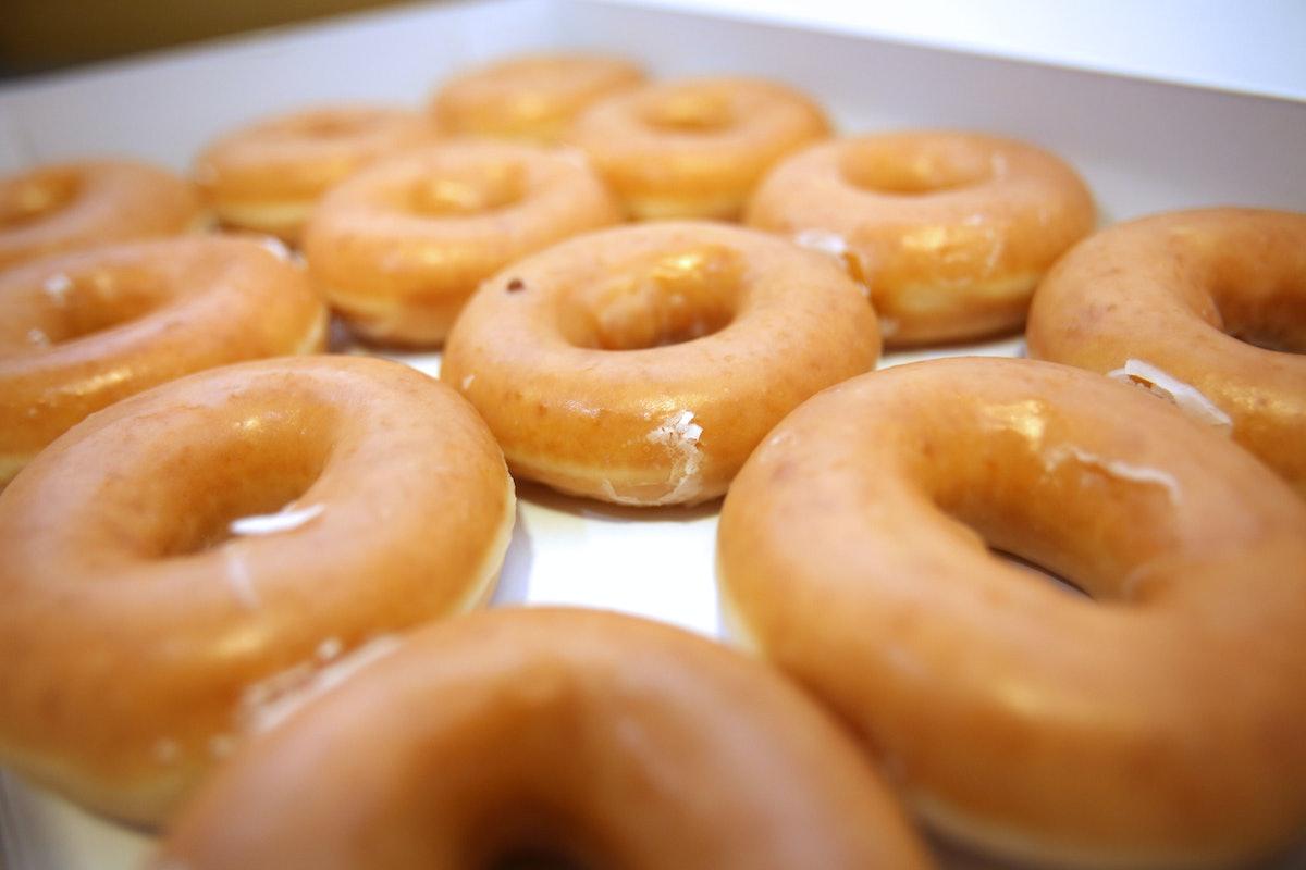Here's how to get free Krispy Kreme doughnuts.