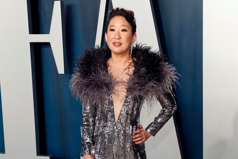 BEVERLY HILLS, CALIFORNIA - FEBRUARY 09: Sandra Oh attends the Vanity Fair Oscar Party at Wallis Annenberg Center for the Performing Arts on February 09, 2020 in Beverly Hills, California. (Photo by Taylor Hill/FilmMagic,)