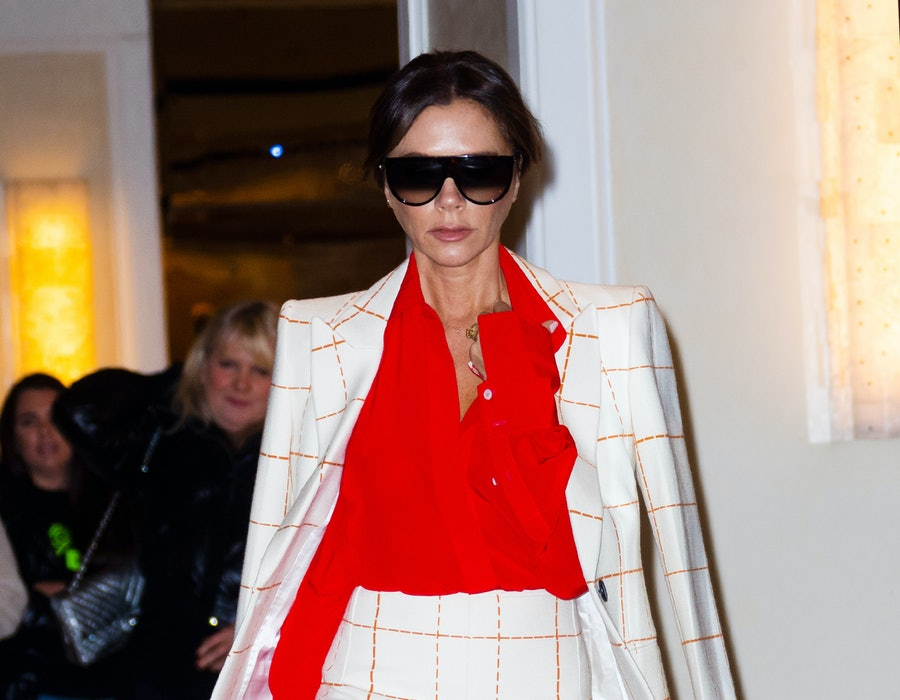 NEW YORK, NEW YORK - OCTOBER 17: Victoria Beckham on October 17, 2019 in New York City. (Photo by Jackson Lee/GC Images)