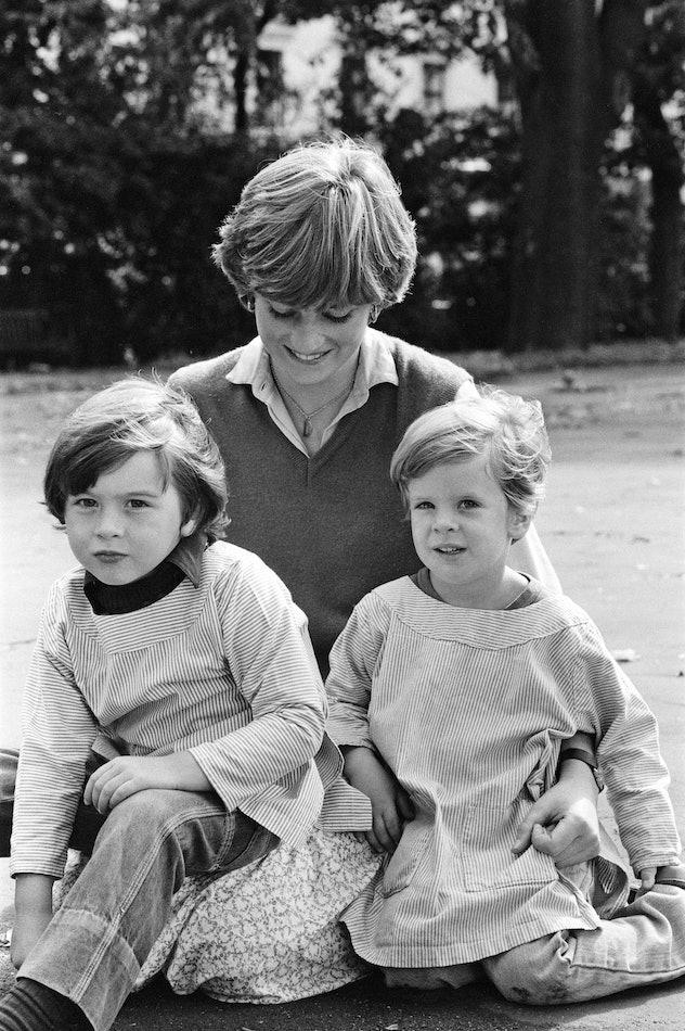 Diana Spencer was a kindergarten helper.