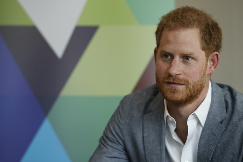 LONDON, UNITED KINGDOM - APRIL 3: Britain's Prince Harry, Duke of Sussex listens to the Youth Ambassadors Mental Health Champions during a visit to YMCA South Ealing, to learn more about their work on mental health and see how they are providing support to young people in the area, on April 3, 2019 in London, England.  YMCA South Ealing is part of YMCA St Paul's Group, which provides services across South West, South and East London, and is one of the largest YMCAs in Europe. The South Ealing association primarily provides supported housing, providing somewhere to live for 150 young people who are having to deal with issues such as homelessness, mental illness, are recovering from substance misuse, or are fleeing domestic violence. (Photo by Adrian Dennis-WPA Pool/Getty Images)