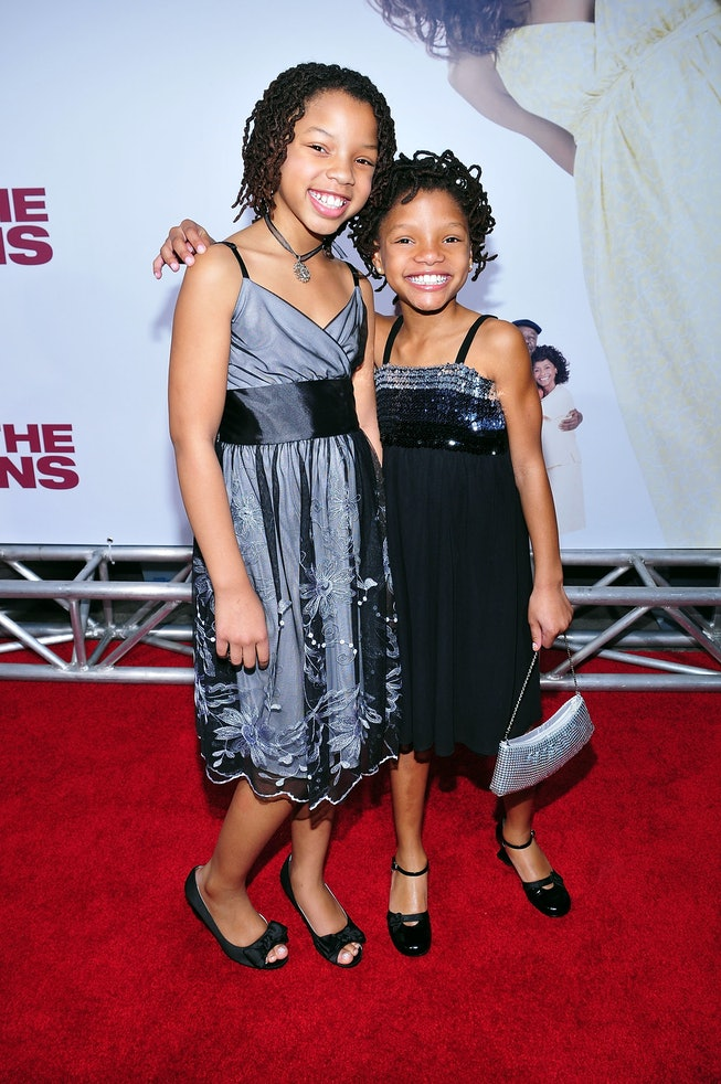 "Chloe x Halle at the 2008 premiere of ""Meet The Browns"""