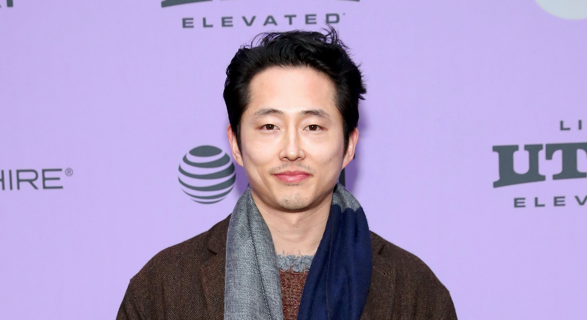 "PARK CITY, UTAH - JANUARY 26: Steven Yeun attends the 2020 Sundance Film Festival - ""Minari"" Premiere at Library Center Theater on January 26, 2020 in Park City, Utah. (Photo by Cindy Ord/Getty Images)"