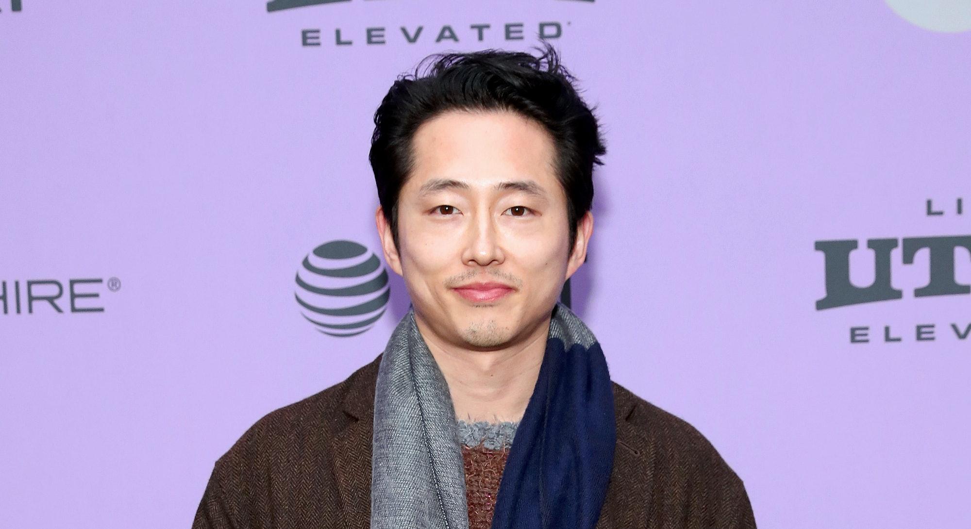 "PARK CITY, UTAH - JANUARY 26: Steven Yeun attends the 2020 Sundance Film Festival - ""Minari"" Premier..."