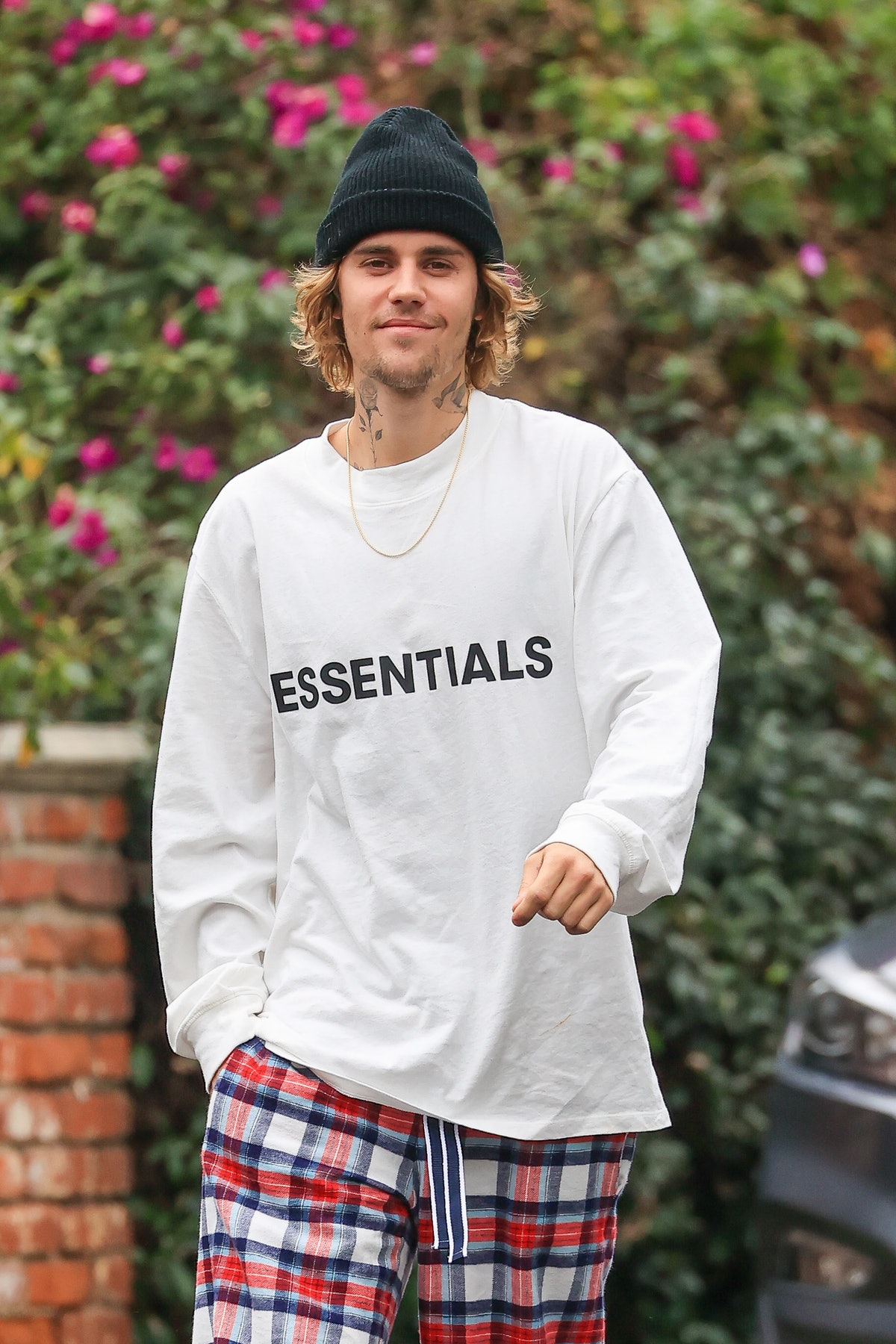 Justin Bieber is seen on February 9, 2021 in Los Angeles, California. (Photo by 007/MEGA/GC Images)