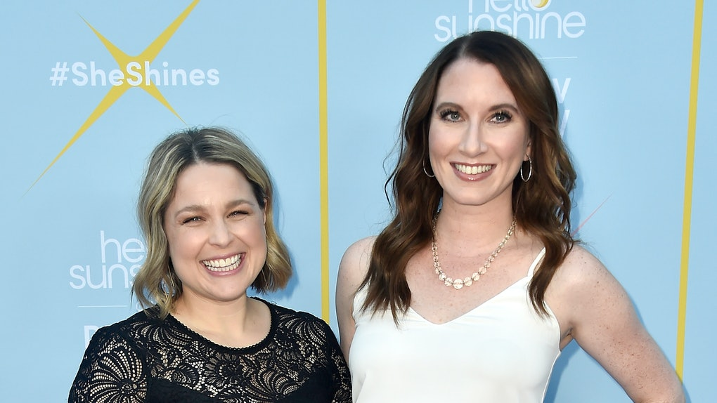 "LOS ANGELES, CA - AUGUST 06:  Founders, The Home Edit,  Joanna Teplin and Clea Shearer attend The Launch Of ""Shine On With Reese"" at NeueHouse Hollywood on August 6, 2018 in Los Angeles, California.  (Photo by Frazer Harrison/Getty Images)"