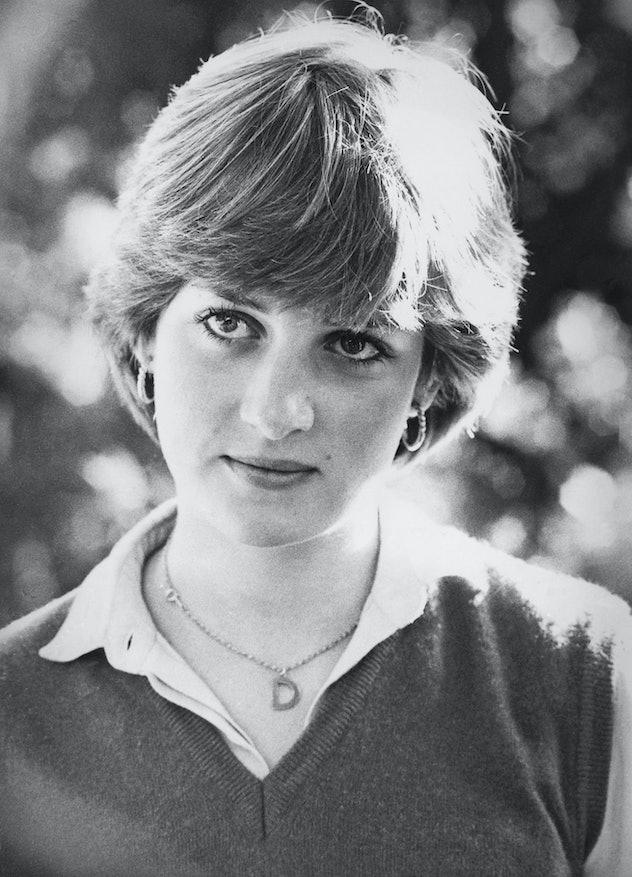 Diana Spencer in a sweater vest in 1980.