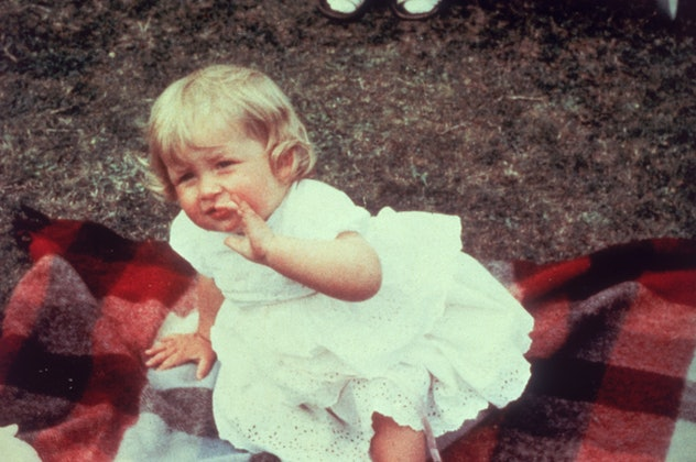 Princess Diana as a baby.