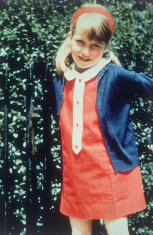 Princess Diana as a little girl.