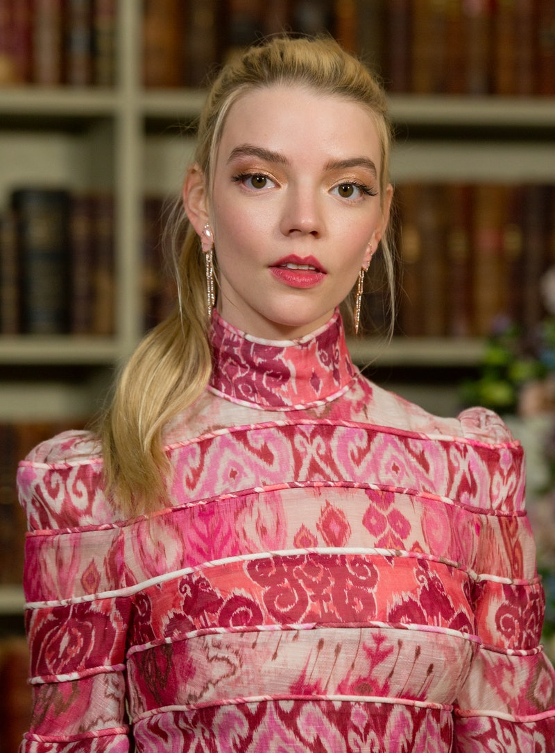 Anya Taylor-Joy attending the photo call for new film Emma at the Soho Hotel, London. (Photo by Isabel Infantes/PA Images via Getty Images)