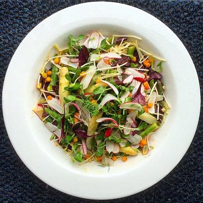 healthy spring salads