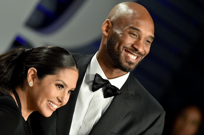 BEVERLY HILLS, CALIFORNIA - FEBRUARY 24: Vanessa Laine Bryant and Kobe Bryant attend the 2019 Vanity Fair Oscar Party Hosted By Radhika Jones at Wallis Annenberg Center for the Performing Arts on February 24, 2019 in Beverly Hills, California. (Photo by Axelle/Bauer-Griffin/FilmMagic)