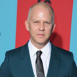"""HOLLYWOOD, CA - OCTOBER 05:  Ryan Murphy arrives at the Los Angeles Premiere """"American Horror Story: Freak Show"""" at TCL Chinese Theatre IMAX on October 5, 2014 in Hollywood, California.  (Photo by Jon Kopaloff/FilmMagic)"""