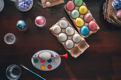 Dyeing Easter eggs can be a fun, messy, and creative way to celebrate the season.