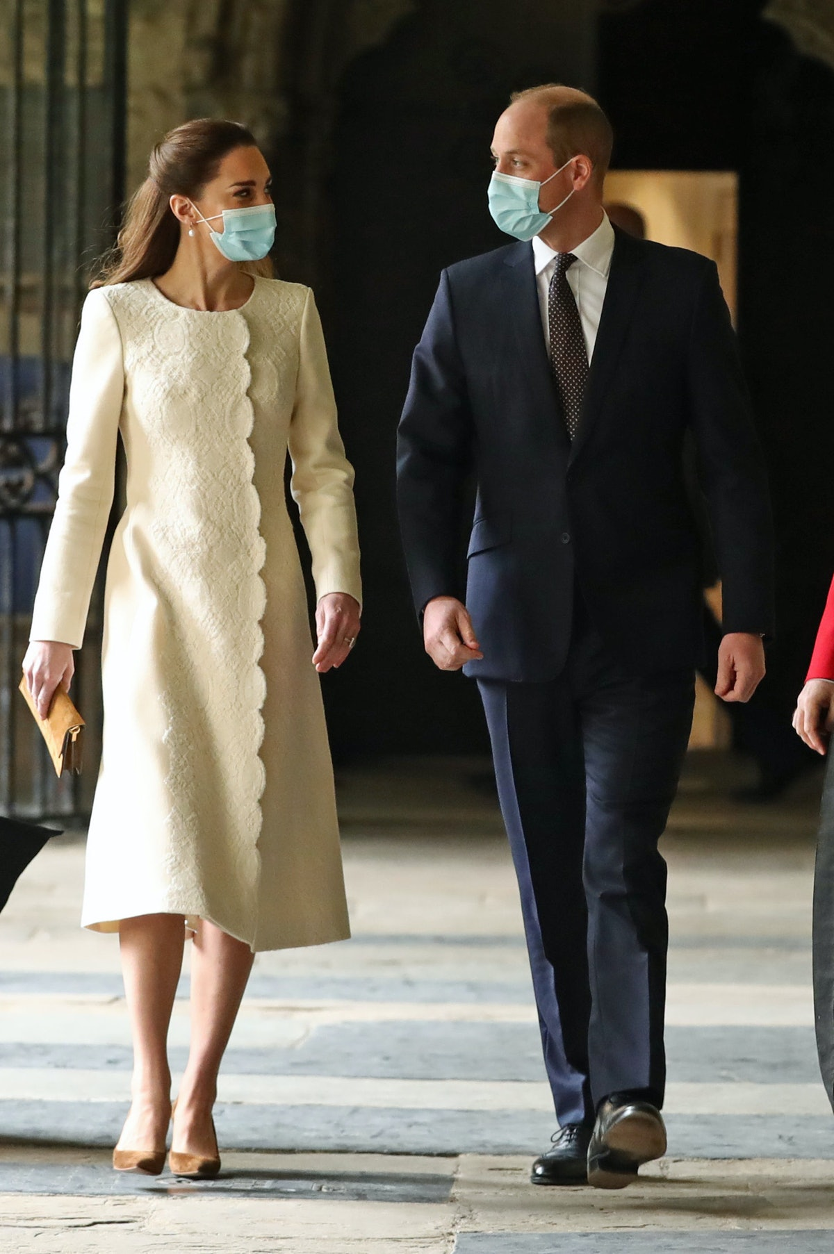 LONDON, ENGLAND - MARCH 23: Prince William, Duke of Cambridge and Catherine, Duchess of Cambridge du...