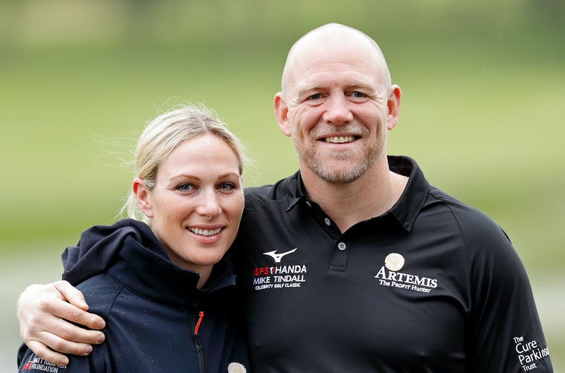 SUTTON COLDFIELD, UNITED KINGDOM - MAY 17: (EMBARGOED FOR PUBLICATION IN UK NEWSPAPERS UNTIL 24 HOURS AFTER CREATE DATE AND TIME) Zara Tindall and Mike Tindall attend the ISPS Handa Mike Tindall Celebrity Golf Classic at The Belfry on May 17, 2019 in Sutton Coldfield, England. (Photo by Max Mumby/Indigo/Getty Images)