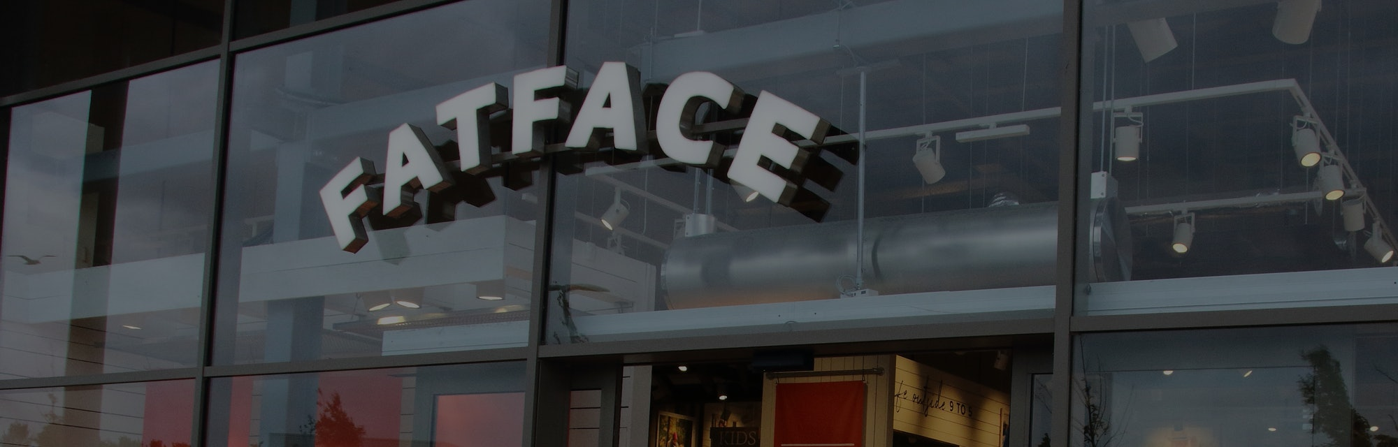 RUSHDEN, UNITED KINGDOM - 2020/07/07: Fatface store seen at Rushden Lakes complex. (Photo by Keith Mayhew/SOPA Images/LightRocket via Getty Images)