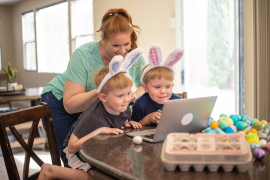 The Easter bunny tracker app is a great way to follow the Easter bunny as he delivers goodies.