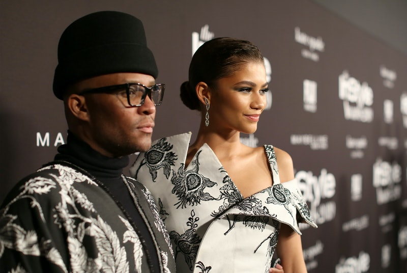 LOS ANGELES, CALIFORNIA - OCTOBER 21: (L-R) Law Roach and Zendaya attend the Fifth Annual InStyle Awards at The Getty Center on October 21, 2019 in Los Angeles, California. (Photo by Randy Shropshire/Getty Images for InStyle)