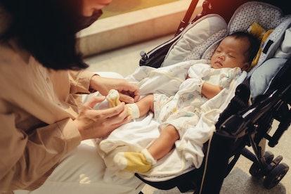 Pregnant women and their newborns get safe COVID-19 antibodies.