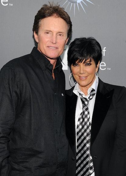 UNIVERSAL CITY, CA - MAY 07:  Bruce Jenner, Kris Kardashian arrive for the City of Hope honoring She...