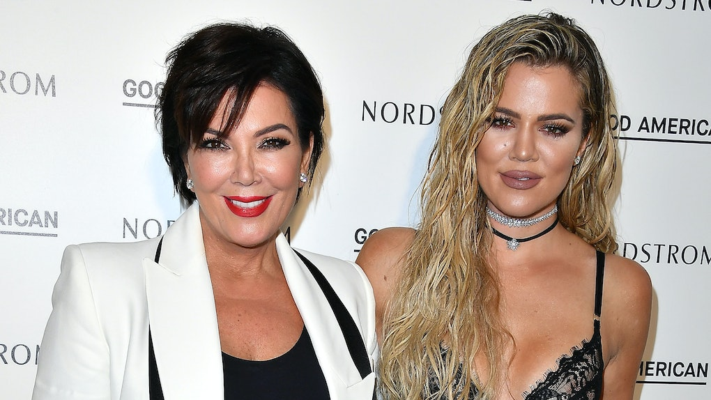 LOS ANGELES, CA - OCTOBER 18:  Kris Jenner and Khloe Kardashian attend Good American Launch Event at Nordstrom at the Grove on October 18, 2016 in Los Angeles, California.  (Photo by Steve Granitz/WireImage)