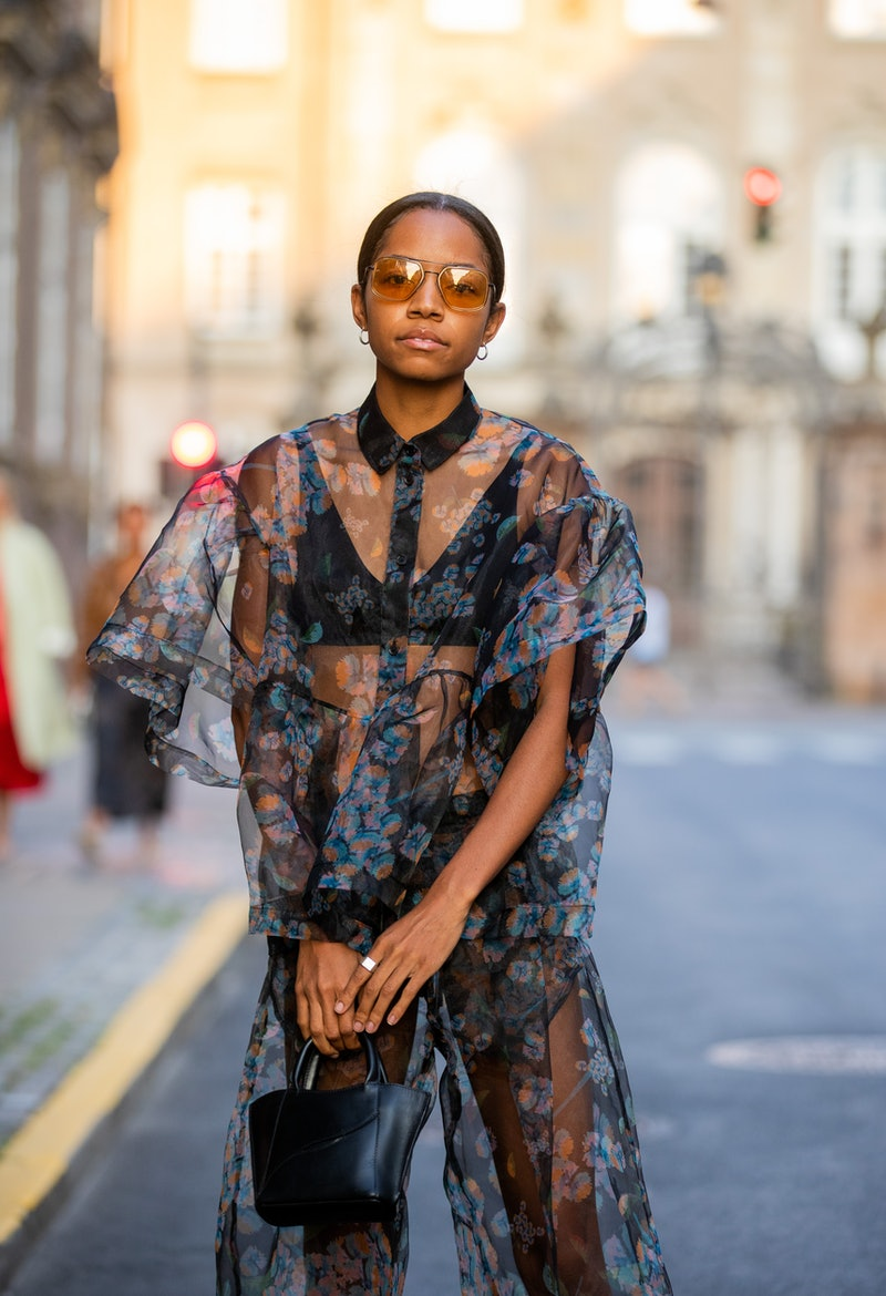 How to Style Sheer Maxi Dresses