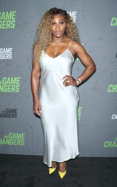 """NEW YORK, NEW YORK - SEPTEMBER 09: Tennis player Serena Williams attends the """"The Game Changers"""" New..."""