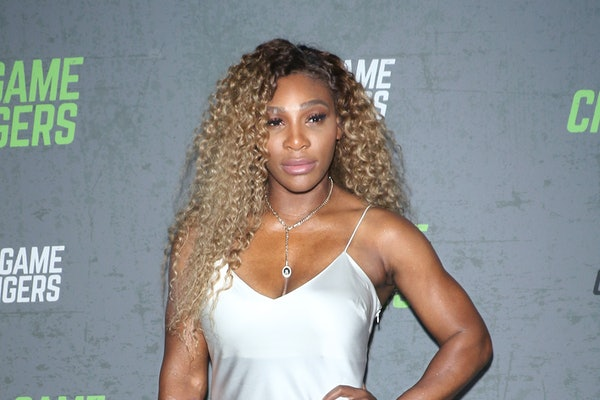 """NEW YORK, NEW YORK - SEPTEMBER 09: Tennis player Serena Williams attends the """"The Game Changers"""" New York premiere at Regal Battery Park 11 on September 09, 2019 in New York City. (Photo by Jim Spellman/Getty Images)"""