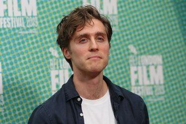 British actor Jack Farthing poses on the red carpet upon arrival for the European premiere of the fi...