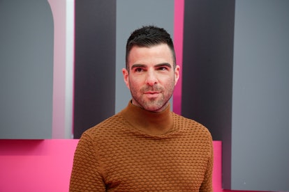 US actor Zachary Quinto poses during the 2019 Cannes International Series festival, in Cannes on April 7, 2019. - Canneseries aims to highlight series from all over the world and to give an international voice to this increasingly popular and fiercely creative new art form. (Photo by YANN COATSALIOU / AFP)        (Photo credit should read YANN COATSALIOU/AFP via Getty Images)