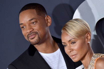 HOLLYWOOD, CALIFORNIA - OCTOBER 06: Will Smith and Jada Pinkett Smith attend Paramount Pictures' Pre...
