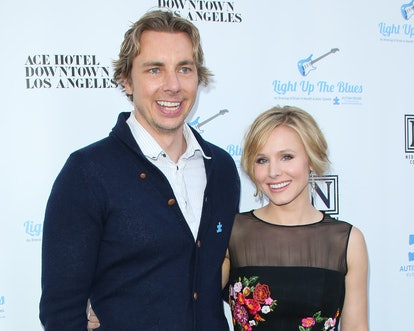 LOS ANGELES, CA - APRIL 05:  Actors Dax Shepard (L) and Kristen Bell (R) attend the 2nd Light Up The...