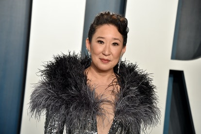 BEVERLY HILLS, CALIFORNIA - FEBRUARY 09: Sandra Oh  attends the 2020 Vanity Fair Oscar Party hosted by Radhika Jones at Wallis Annenberg Center for the Performing Arts on February 09, 2020 in Beverly Hills, California. (Photo by Gregg DeGuire/FilmMagic)