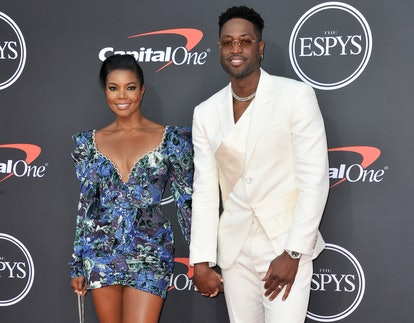 LOS ANGELES, CALIFORNIA - JULY 10: (L-R) Gabrielle Union and Dwyane Wade attend the 2019 ESPY Awards...