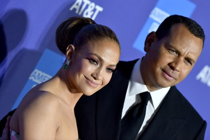 PALM SPRINGS, CALIFORNIA - JANUARY 02: Jennifer Lopez and Alex Rodriguez attend the 2020 Annual Palm...
