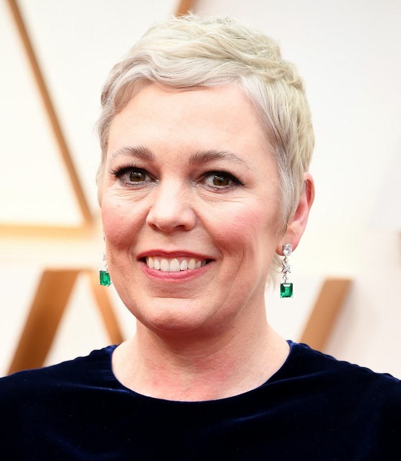 HOLLYWOOD, CALIFORNIA - FEBRUARY 09: Olivia Colman arrives at the 92nd Annual Academy Awards at Hollywood and Highland on February 09, 2020 in Hollywood, California. (Photo by Steve Granitz/WireImage)