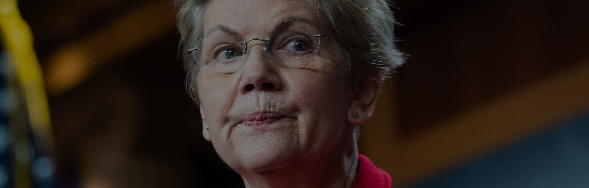 UNITED STATES - MARCH 01: Sen. Elizabeth Warren, D-Mass., conducts a news conference in the Capitol to introduce the Ultra-Millionaire Tax Act which would tax high net worth households on Monday, March 1, 2021. Reps. Pramila Jayapal, D-Wash., and Brendan Boyle, D-Pa., also attended. (Photo By Tom Williams/CQ-Roll Call, Inc via Getty Images)