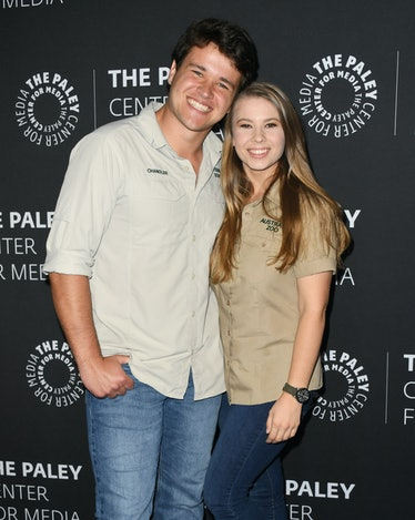 BEVERLY HILLS, CALIFORNIA - MAY 03:  Chandler Powell and Bindi Irwin attend The Paley Center For Med...