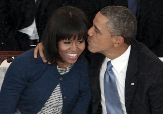 Barack Obama wanted to be a dad after moving in with Michele.