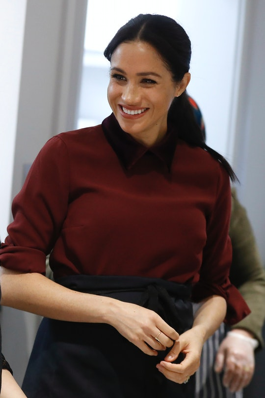 Meghan Markle is baking during her second pregnancy.