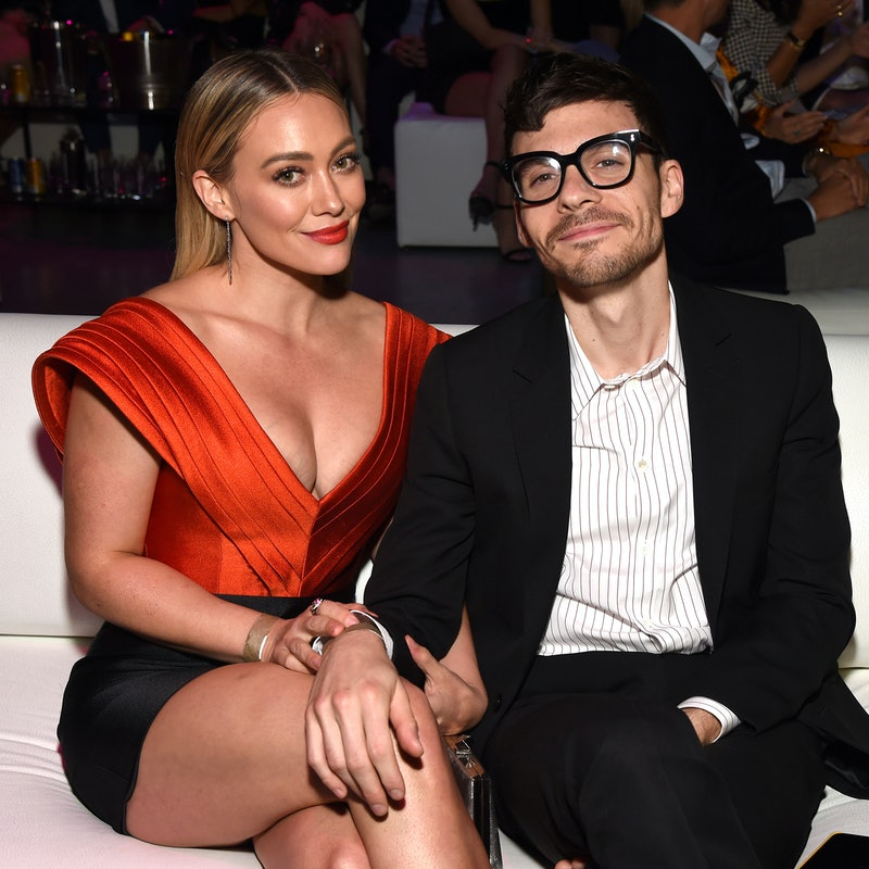 LOS ANGELES, CALIFORNIA - OCTOBER 12: (L-R) Hilary Duff and Matthew Koma attend the 5th Adopt Together Baby Ball Gala on October 12, 2019 in Los Angeles, California. (Photo by Michael Kovac/Getty Images for Adopt Together)