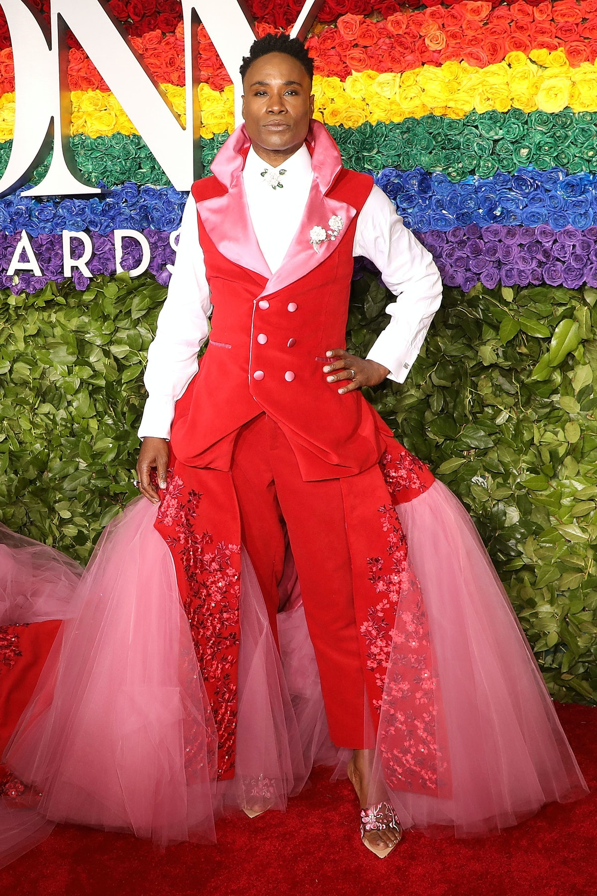 NEW YORK, NY - JUNE 09:  Billy Porter attends the 2019 Tony Awards at Radio City Music Hall on June 9, 2019 in New York City.  (Photo by Taylor Hill/FilmMagic,)