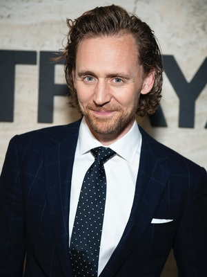 """NEW YORK, NY – SEPTEMBER 5: Tom Hiddleston attends the Broadway Opening Night of """"Betrayal"""" at THE POOL in the Seagram Building on September 5, 2019 in New York City. (Photo by Jenny Anderson/Getty Images)"""