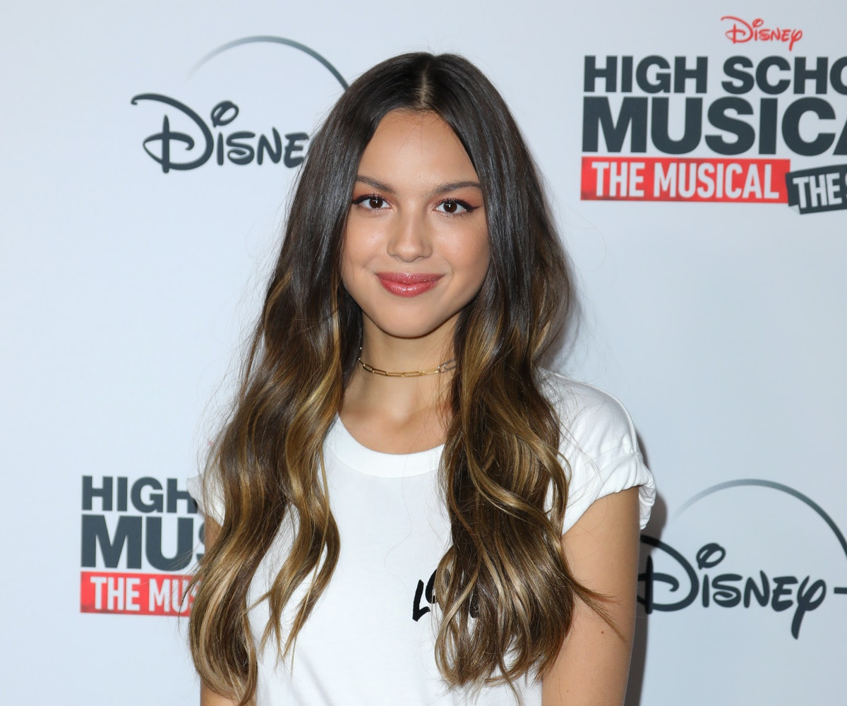 BURBANK, CALIFORNIA - NOVEMBER 01: Actress Olivia Rodrigo attends the premiere of Disney+'s 'High School Musical: The Musical: The Series' at Walt Disney Studio Lot on November 01, 2019 in Burbank, California. (Photo by JC Olivera/WireImage)