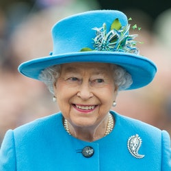 Get to know the stories behind Queen Elizabeth's most memorable brooches, from her palm leaf brooch to her true lover's knot brooch.