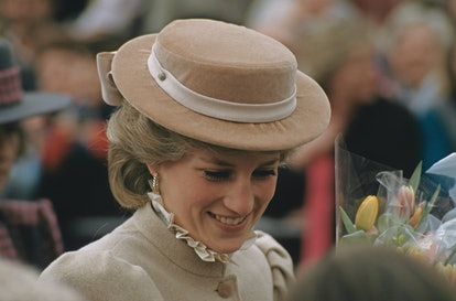 Diana, Princess of Wales  (1961 - 1997) visits West Byfleet in Surrey, March 1986.  (Photo by Jayne ...