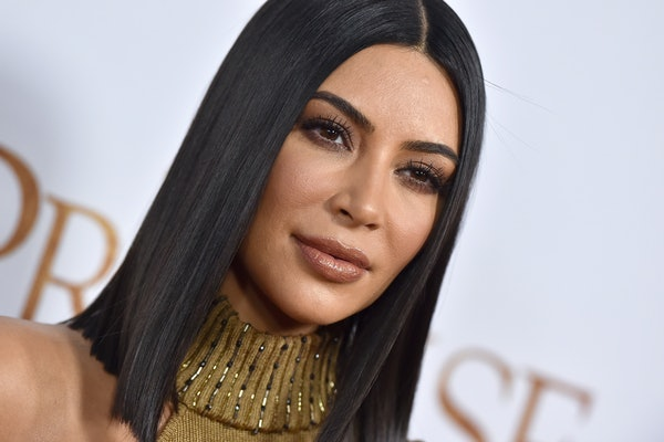 HOLLYWOOD, CA - APRIL 12:  TV personality Kim Kardashian arrives at the Premiere of Open Road Films' 'The Promise' at TCL Chinese Theatre on April 12, 2017 in Hollywood, California.  (Photo by Axelle/Bauer-Griffin/FilmMagic)
